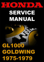 Honda Goldwing GL1000 Workshop Manual