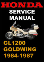 Honda Goldwing GL1200 Workshop Manual